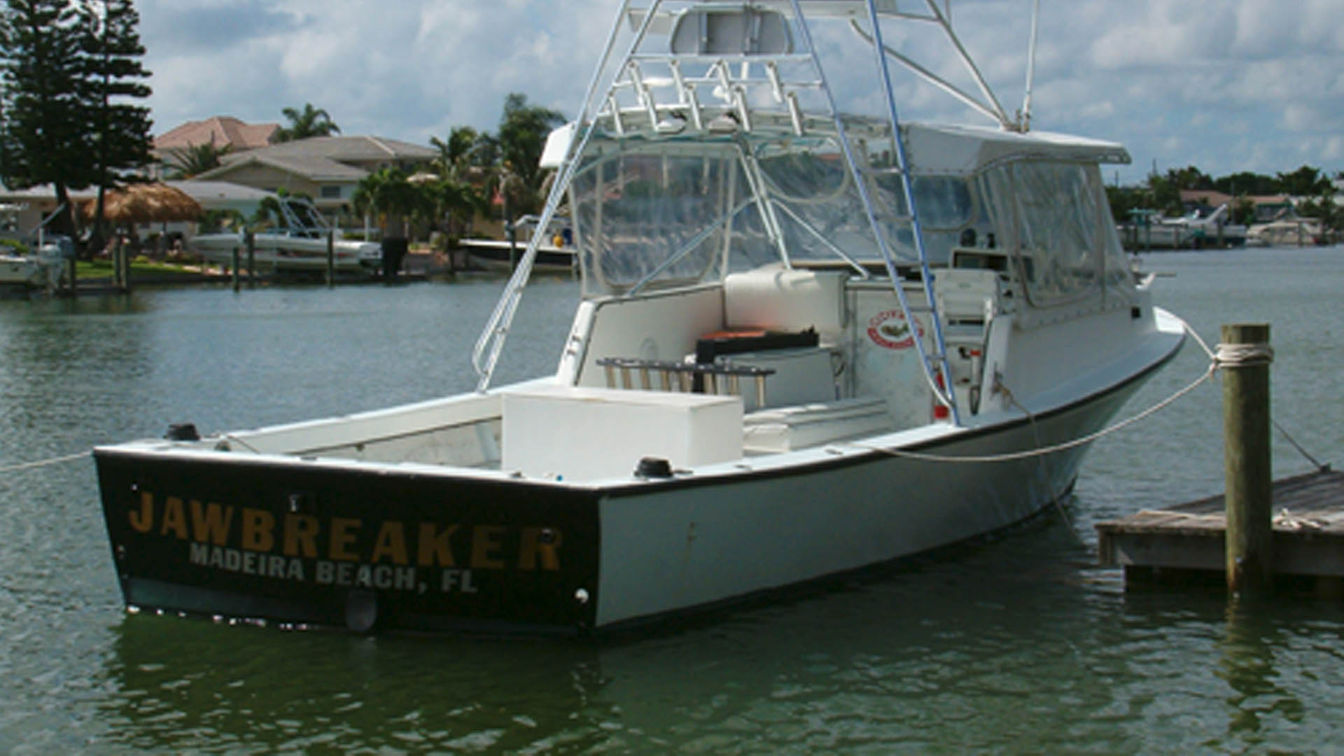 The Jawbreaker Fishing Boat in St. Petersburg, FL.